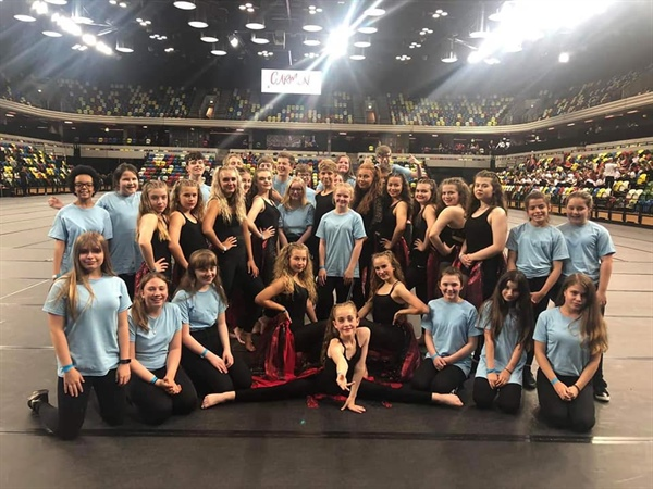 Hyndburn and Accrington Academy students shine in Carmen! Performance at London's Olympic Park.