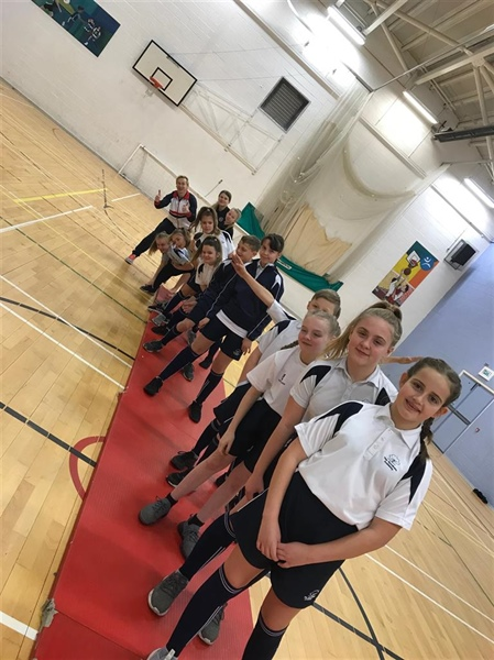 Olympic Gymnast has Hyndburn Academy students bouncing!