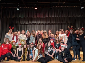 The Hyndburn Academy hosts Christmas spectacular!