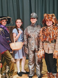 Students bring the magic of Oz to Hyndburn